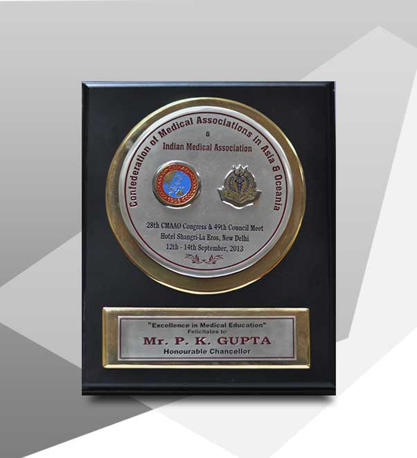 Awarded Excellence In Medical Education